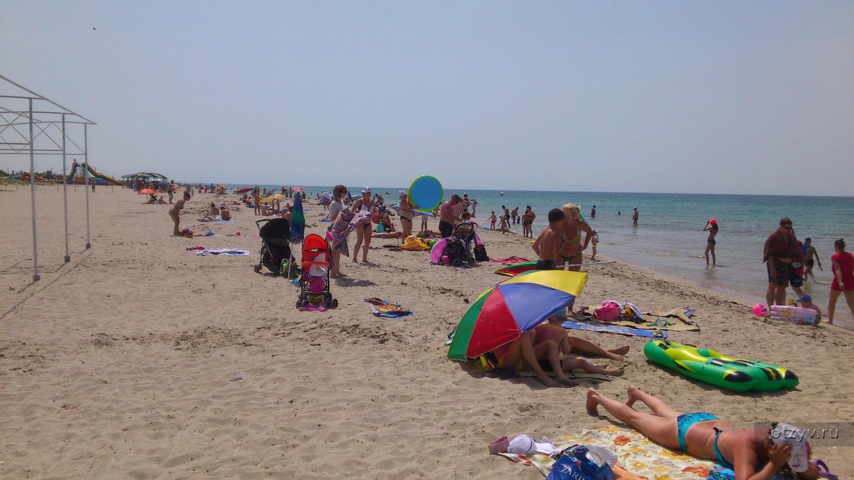 Пляж в поповке фото