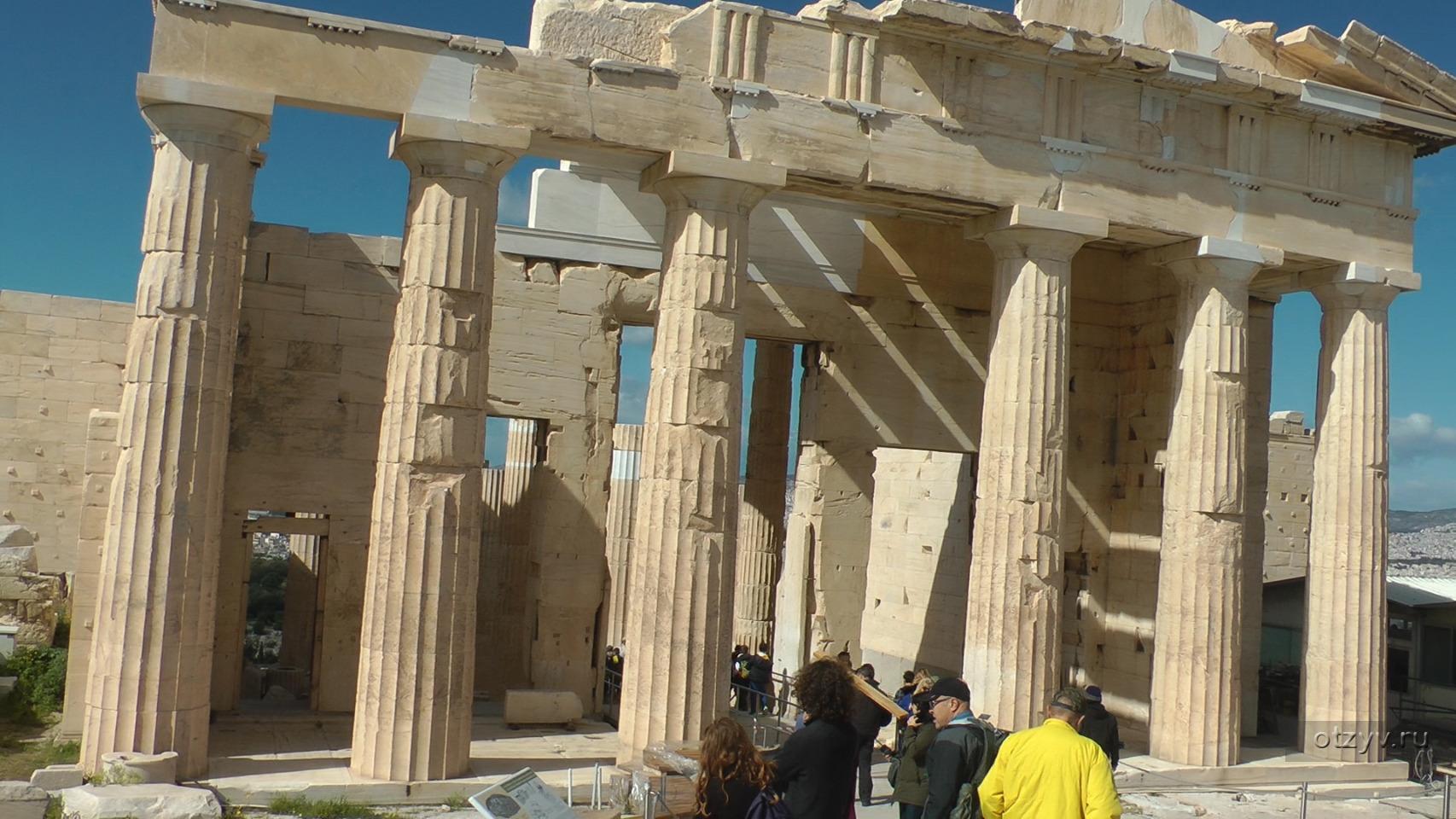 пропилеи афинского акрополя картинки маяковский