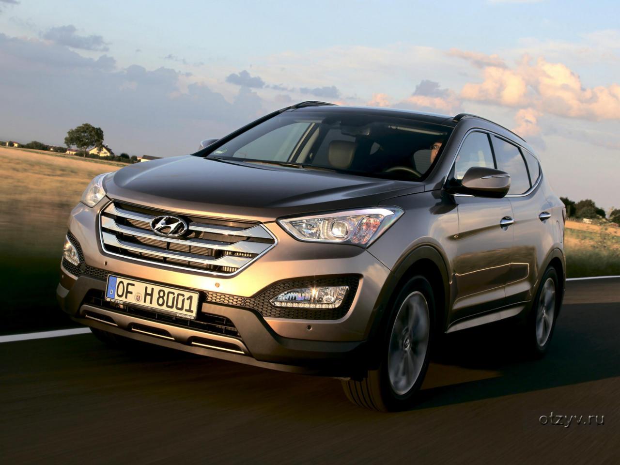 Hyundai Santa Fe 2016 отзывы владельцев об автомобиле