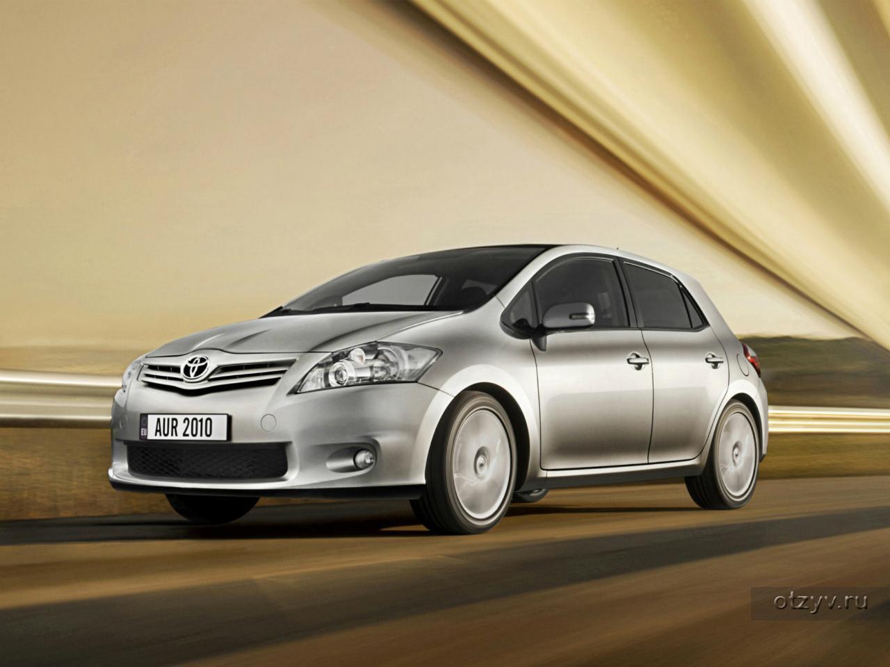 Toyota Аурис 1 4 бензин #11