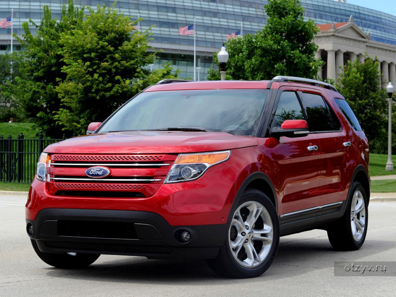 Отзывы владельцев Форд Эксплорер (Ford Explorer) с фото, видео