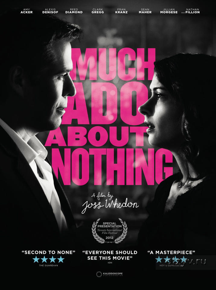 a comparison of movie and book of much ado about nothing Much ado about nothing is a comedy by william shakespeare first published in 1600, it was likely first performed in the winter of 1598-1599 a victory is twice itself when the achiever brings home full numbers.