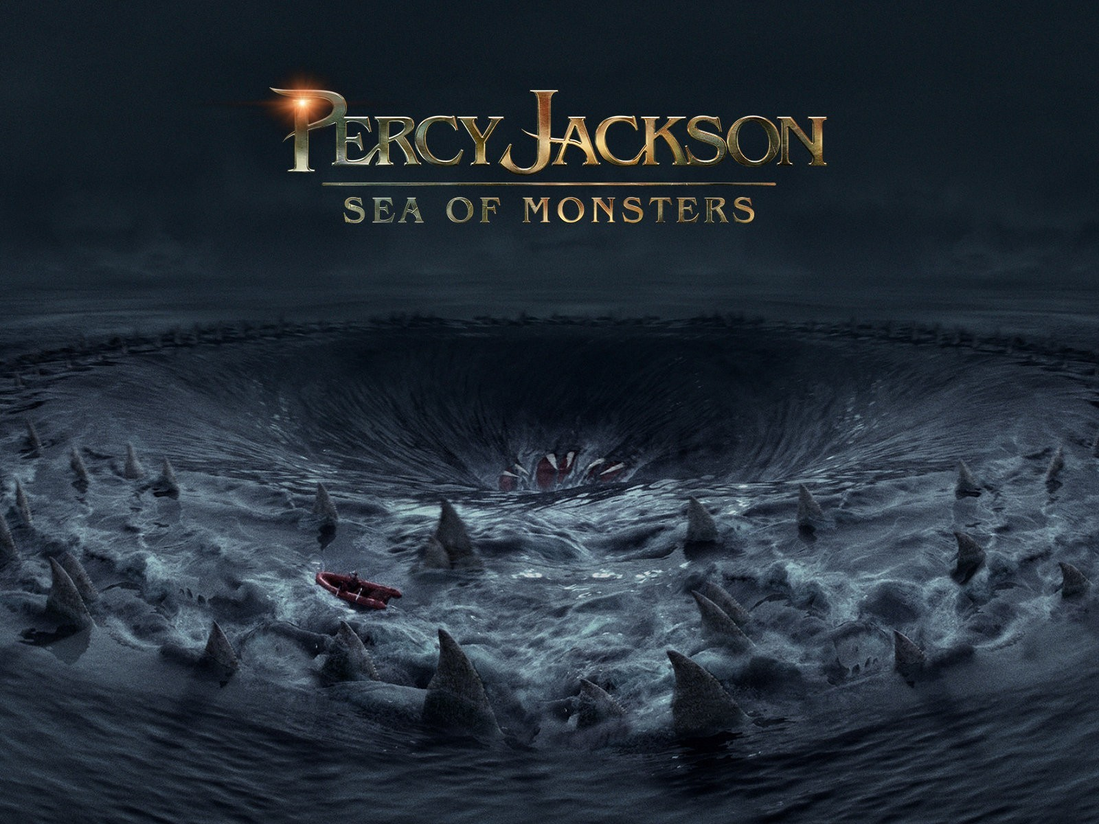 Обои к фильму Перси Джексон и Море чудовищ