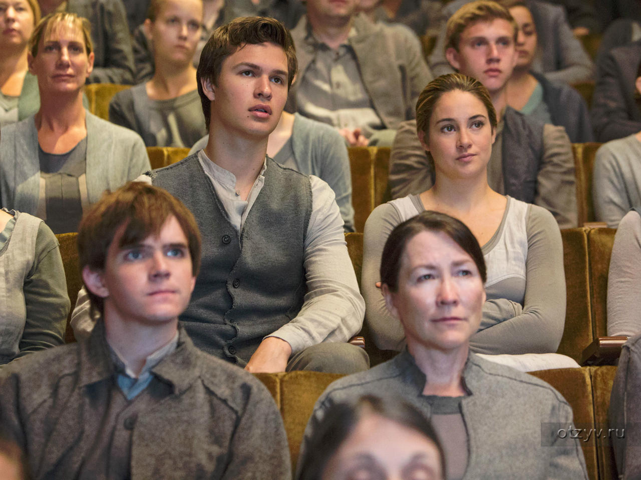Are the main characters in divergent dating after divorce