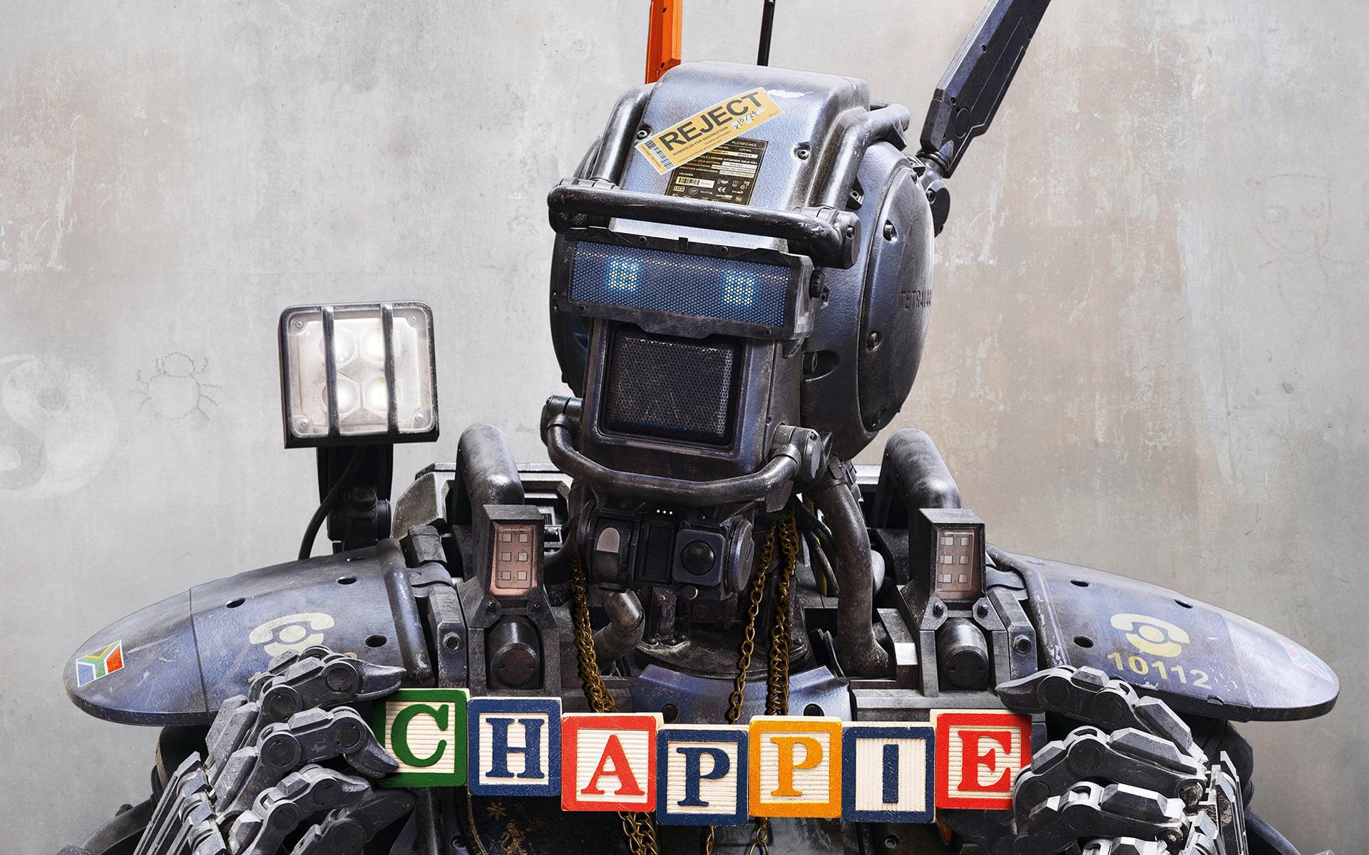 картинки робот чаппи