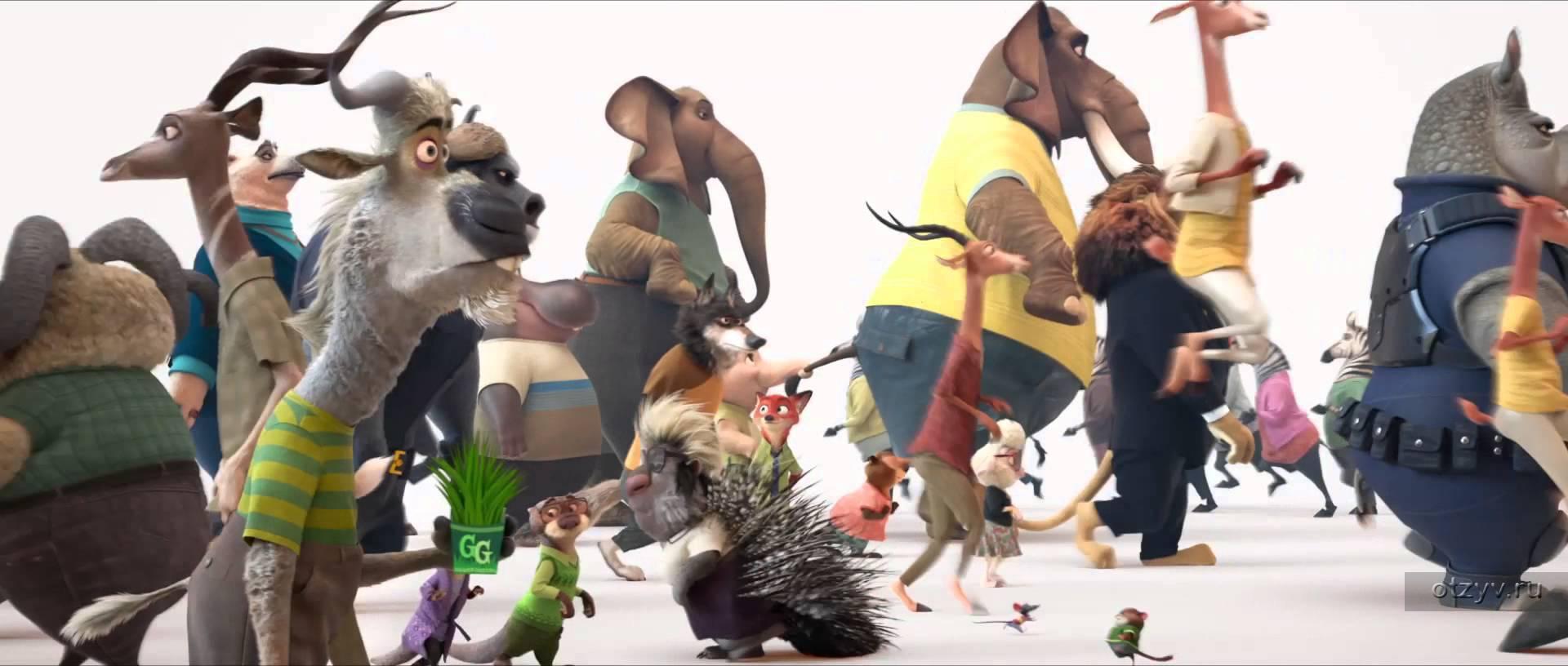 Посмотреть мультфильм Зверополис онлайн бесплатно
