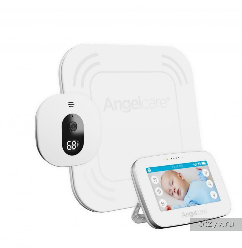 сенсорная видеоняня монитор дыхания Angelcare Ac417 отзывы
