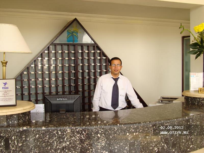 Заселение в отель в египте